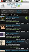 Screenshot of Ambling BookPlayer Lite