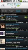 Screenshot of Ambling BookPlayer Lite