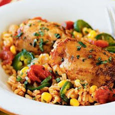 Peruvian Chicken with Spicy Rice