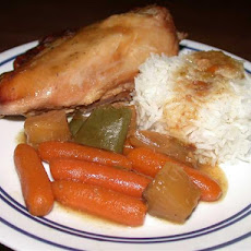 Tangy Tender Chicken (Crock Pot)
