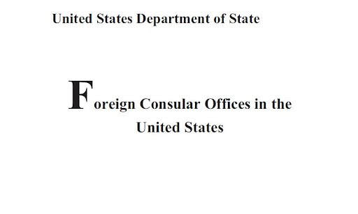Foreign Consular Offices in US