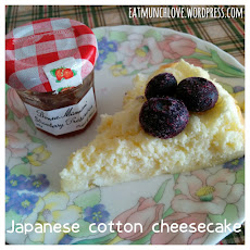 Easy 3 ingredient Japanese cotton cheese cake (gluten free)