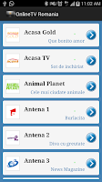 Screenshot of OnlineTV