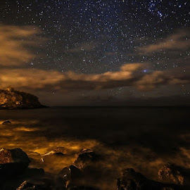 baths stars by Pedro Vaz de Carvalho - Landscapes Starscapes
