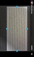 Screenshot of ScanToText (OCR)