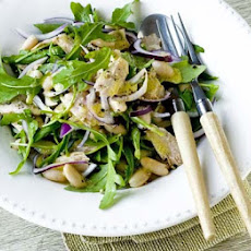 Tuna, Red Onion & White Bean Salad