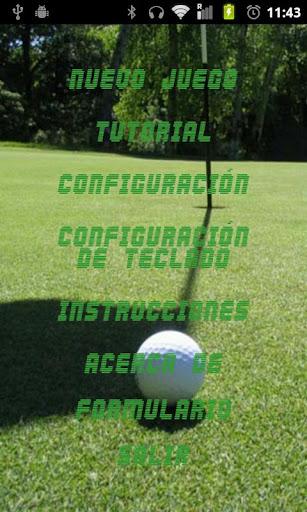 Eyes-free Golf BFG
