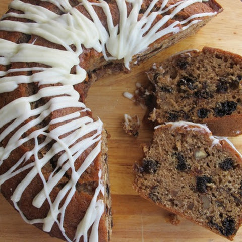 Spiced Prune Cake with Cream Cheese Icing