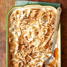 Sweet Potato Casserole with Bourbon and Pineapple