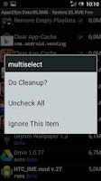 Screenshot of SystemCleanup