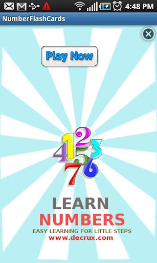Learn Number Flashcards - Kids