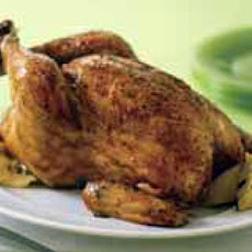 Whole Crock Pot Chicken