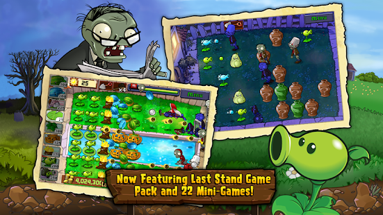 APK Game Plants vs. Zombies FREE for BB, BlackBerry