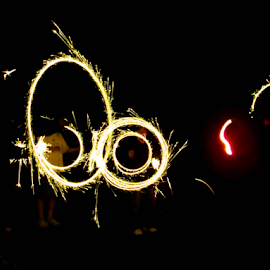 Light Painting by Winkie Chau - Abstract Light Painting ( abstract, light painting, fireworks, fun, kids,  )