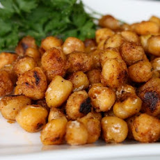 Pan Fried Cajun Chickpeas