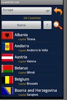 Screenshot of Countries Handbook