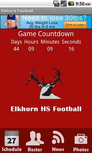 Elkhorn Antler Football