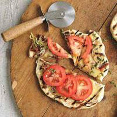 French Onion Grilled Pizzas