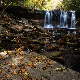 State of Zen by Steven Maerz - Landscapes Waterscapes ( #peaceful#waterfall#rickettsglen )