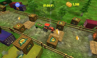 Screenshot of Farm Driver Skills Competition