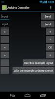 Screenshot of Arduino Controller Lite