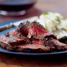 Wasabi-Miso Marinated Flank Steak