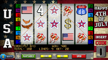 Screenshot of 4th of July Slots