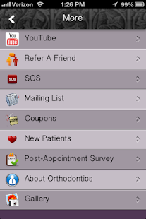 Chmura Orthodontics - screenshot