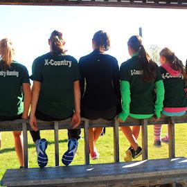 Cross Country  School Run by Grace Sarazin - Sports & Fitness Running (  )