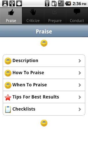 Praise Criticize Review