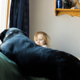 ploting by Rebecca Koch - People Family ( play, plains, puppy, fun, kid )