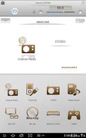 Screenshot of Marantz Remote App