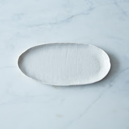 Oval Textured Tray