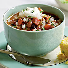 Anasazi and Black Bean Chili
