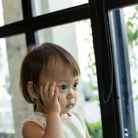 Thinking.... by Eugene Ooi - Babies & Children Toddlers