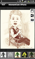 Screenshot of New MomentCam Photos Share