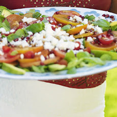 Tomato And Sharon Fruit Salad