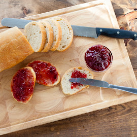 Bread and Jam by Andre Lindo - Food & Drink Cooking & Baking