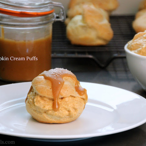 SALTED PUMPKIN CREAM PUFFS