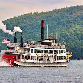 by Karen Jaffer - Transportation Boats