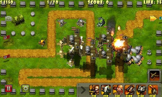Little Commander - WWII TD APK for Lenovo