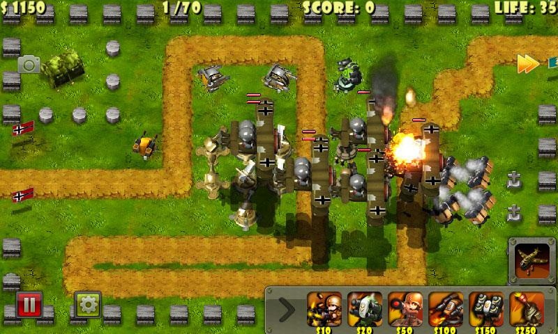 Kleiner Kommandeur – 0. WK TD – Screenshot