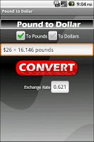 Screenshot of Pound to Dollar (Ad Free!)
