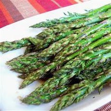 Asparagus With Balsamic Butter Sauce