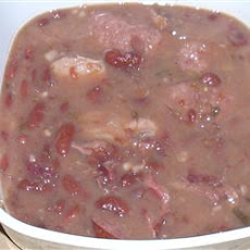 Red Beans and Pork Chops
