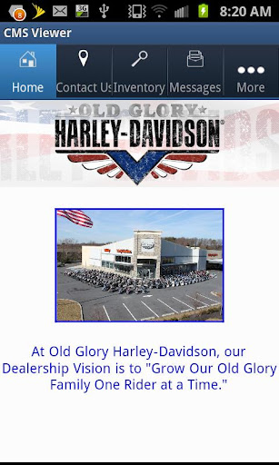 Old Glory Harley-Davidson