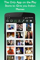 Screenshot of Desi Memes & Smileys for Chat
