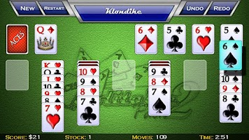 Screenshot of zzzAces Solitaire Pack 2 Lite