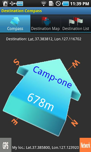 Destination Compass