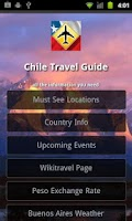 Screenshot of Chile Travel